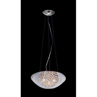 Z-Lite Athene 7 Light Pendant in Chrome with Crystal Glass 861AM