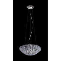 Z-Lite Athene 7 Light Pendant in Chrome with Crystal Glass 863SM