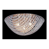 Z-Lite Athene 4 Light Flush Mount in Chrome with Crystal Glass 865AM