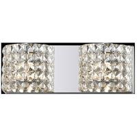 Z-Lite 867-2V-LED Panache LED 16 inch Chrome Vanity Wall Light in 2
