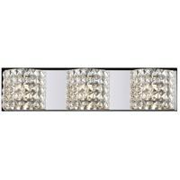 Z-Lite 867-3V-LED Panache LED 26 inch Chrome Vanity Wall Light in 3