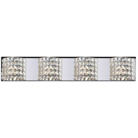 Z-Lite 867-4V-LED Panache LED 35 inch Chrome Vanity Wall Light in 4