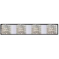 Z-Lite 867-4V Panache 4 Light 35 inch Chrome Vanity Light Wall Light in G9