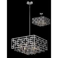 Mirach 6 Light 18 inch Chrome Pendant Ceiling Light
