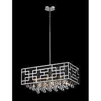 Mirach 6 Light 22 inch Chrome Island Light Ceiling Light