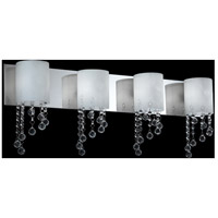 Jewel LED 31 inch Chrome Vanity Light Wall Light in 4