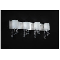 Z-Lite 871CH-4V Jewel 4 Light 31 inch Chrome Vanity Light Wall Light photo thumbnail