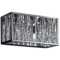 Terra LED 11 inch Chrome Vanity Light Wall Light in 2