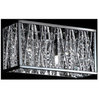 Terra 2 Light 11 inch Chrome Vanity Light Wall Light