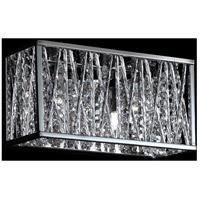 Z-Lite 872CH-2V Terra 2 Light 11 inch Chrome Vanity Wall Light