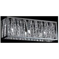 Z-Lite 872CH-3V Terra 3 Light 16 inch Chrome Vanity Wall Light