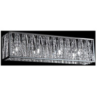 Terra 4 Light 22 inch Chrome Vanity Wall Light