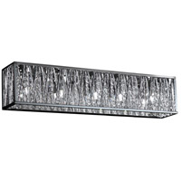 Terra LED 27 inch Chrome Vanity Light Wall Light in 5