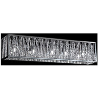 Terra 5 Light 27 inch Chrome Vanity Wall Light