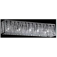Z-Lite 872CH-5V Terra 5 Light 27 inch Chrome Vanity Wall Light in G9