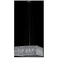 Z-Lite 872CH-P Terra 5 Light 20 inch Chrome Pendant Ceiling Light