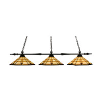 Z-Lite Aztec 3 Light Billiard in Bronze 88103BRZ-Z15-11 photo thumbnail