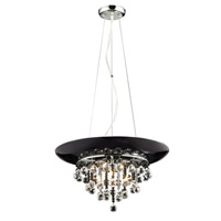 Z-Lite Nines 3 Light Pendant in Chrome 881P-CH