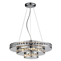Ariel 5 Light 18 inch Chrome Chandelier Ceiling Light