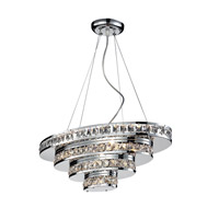 Z-Lite Ariel 5 Light Island/Billiard in Chrome 884CH