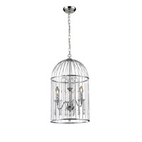 Z-Lite Avary 3 Light Chandelier in Chrome 885CH