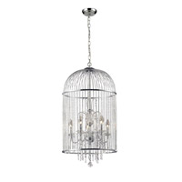 Z-Lite Avary 5 Light Chandelier in Chrome 886CH