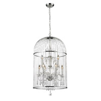 Z-Lite Avary 9 Light Chandelier in Chrome 887CH