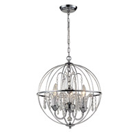 Z-Lite Laia 3 Light Pendant in Chrome  895CH