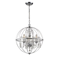 Z-Lite Laia 3 Light Pendant in Chrome  896CH