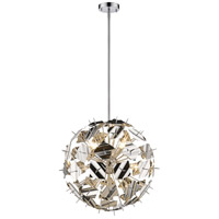 Z-Lite 9003P24-CH Branam 9 Light 25 inch Chrome Pendant Ceiling Light