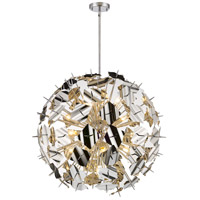 Z-Lite 9003P30-CH Branam 13 Light 30 inch Chrome Pendant Ceiling Light