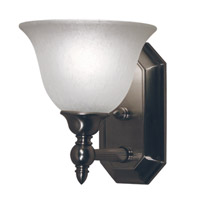 Z-Lite Clayton 1 Light Vanity in Brushed Nickel 901-1V-BN