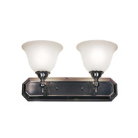 Z-Lite Clayton 2 Light Vanity in Brushed Nickel 901-2V-BN