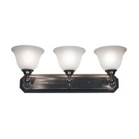 Z-Lite Clayton 3 Light Vanity in Brushed Nickel 901-3V-BN