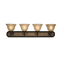 Z-Lite Clayton 4 Light Vanity in Burnt Antique Copper 901-4V-BAC