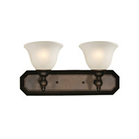 Clayton 2 Light 18 inch Bronze Vanity Light Wall Light