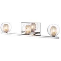 Z-Lite 905-3V Auge 3 Light 23 inch Chrome Vanity Wall Light in G9