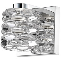 Z-Lite 907-1S-LED Dawson LED 5 inch Chrome Wall Sconce Wall Light in 1