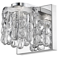 Z-Lite 908-1S-LED Tempest LED 5 inch Chrome Wall Sconce Wall Light in 1