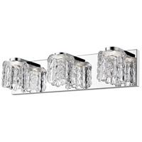 Z-Lite 908-3V-LED Tempest LED 20 inch Chrome Vanity Wall Light in 3