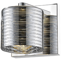 Z-Lite 911-1S-LED Sempter LED 5 inch Chrome Wall Sconce Wall Light