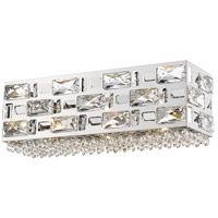 Z-Lite 912-3V-CH Aludra 3 Light 16 inch Chrome Vanity Wall Light in G9
