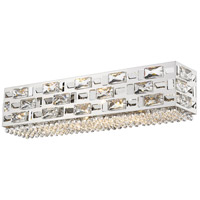 Z-Lite 912-5V-CH Aludra 5 Light 24 inch Chrome Vanity Wall Light