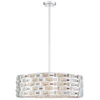 Z-Lite 912P24-CH Aludra 7 Light 24 inch Chrome Pendant Ceiling Light