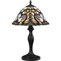 Z-Lite Accent Tiffany Lamp 1 Light Table Lamp in Bronze G12-3312 photo thumbnail
