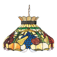 Fruit 1 Light 20 inch Bronze Pendant Ceiling Light