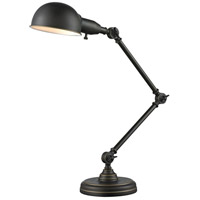 Z-Lite TL118-OB Stuart 36 inch 60 watt Olde Bronze Table Lamp Portable Light in Olde Bronze Steel