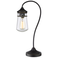 Celeste 21 inch 100 watt Olde Bronze Table Lamp Portable Light