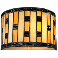 Z-Lite Raya 1 Light Wall Sconce in Java Bronze Z10-51WS