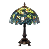 Z-Lite Woodland 1 Light Table Lamp in Chestnut Bronze Z12-36TL